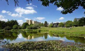 Bath campus lake