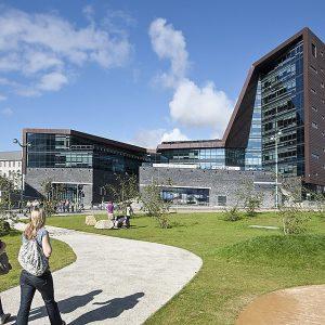 Plymouth campus building