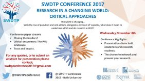 SWDTP Conference 2017 Poster