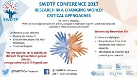 SWDTP Student Conference 2017 poster