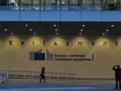 European Commission Entrance