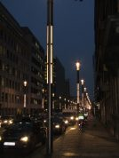 Lamposts in Brussels