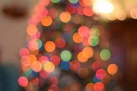 Distorted fairy lights