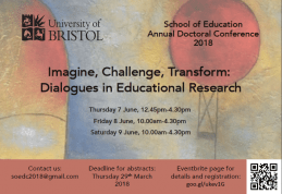 University of Bristol Annual Doctoral Conference