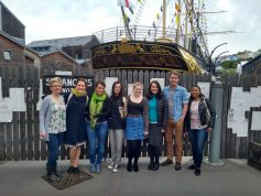 The 2018 Conference Crew Making Sure Everything is Ship-Shape at the SS Great Britain