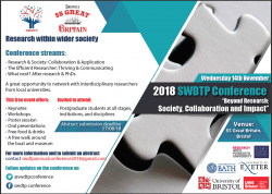 SWDTP Student Conference 2018 Poster