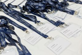 SWDTP Student Conference 2017 lanyards(Copyright Tim Gander)