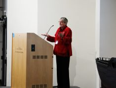 Professor Sally Barnes Opens the Conference