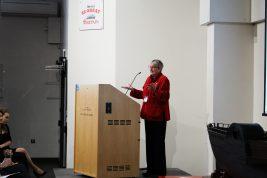 Professor Sally Barnes Opens the Conference
