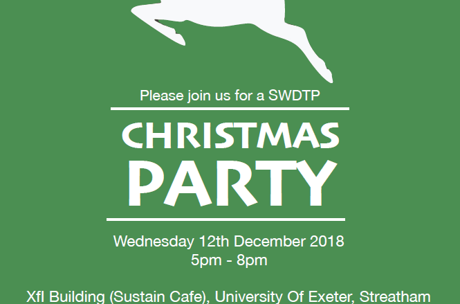 Exeter Christmas Party Poster