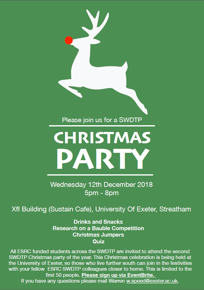 Exeter Christmas Party