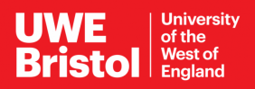 University of West England Logo Banner