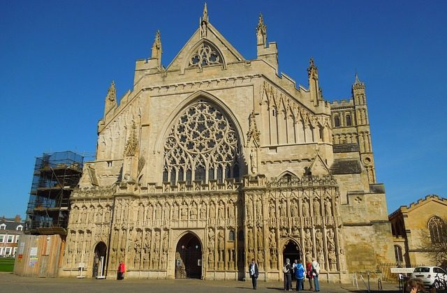 Exeter Cathedral- Link to Student Initiatives page