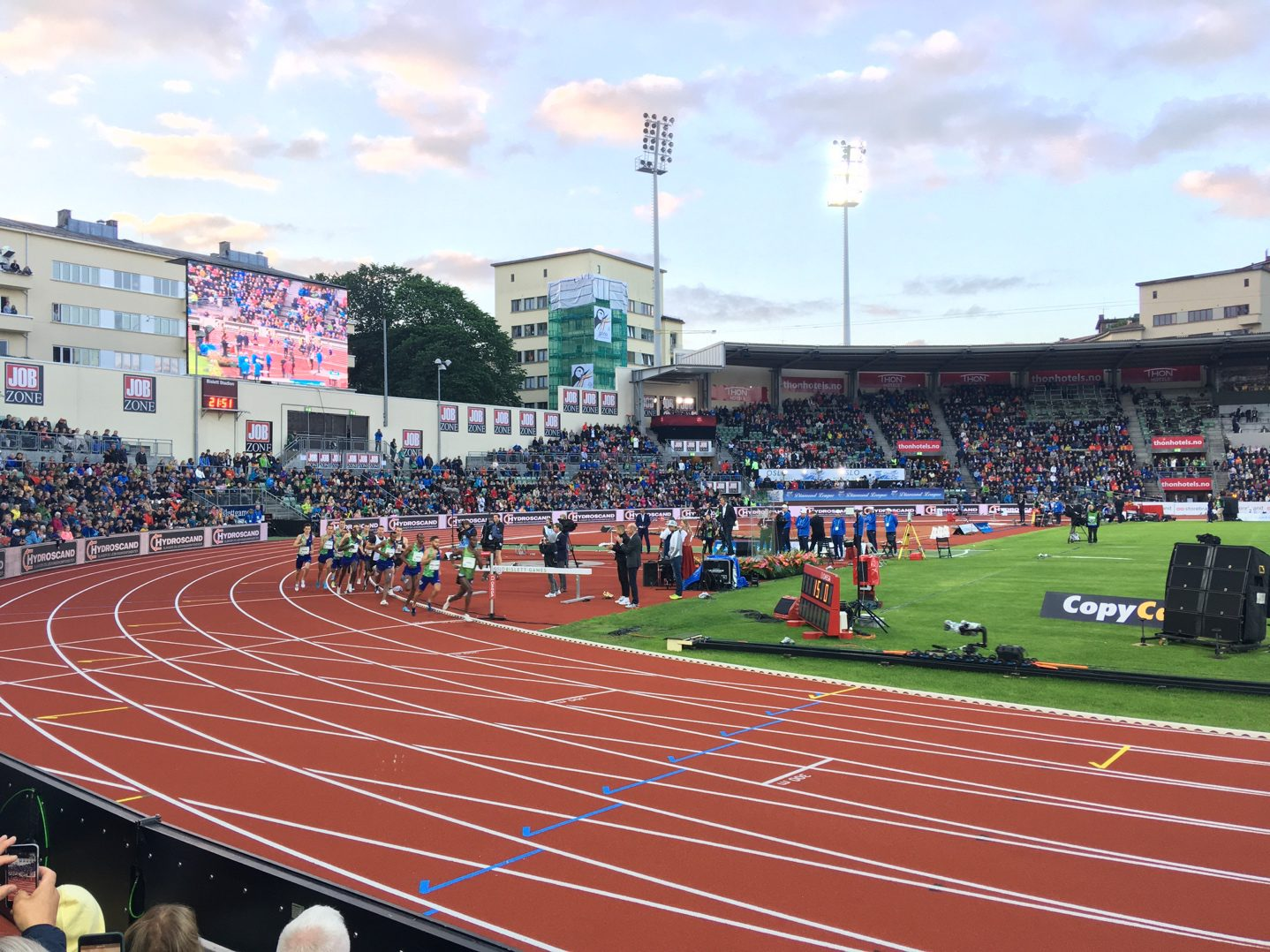 Diamond League meet, Bislett Stadium, Oslo