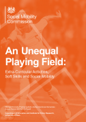 An Unequal Playing Field Social Mobility Commission Report