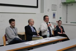 Panel Discussion SWDTP Student Conference 2019, St Lukes Campus